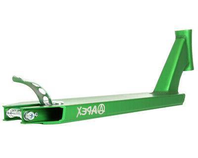 NEW APEX Deck Green Scooter Trick Deck Parts -