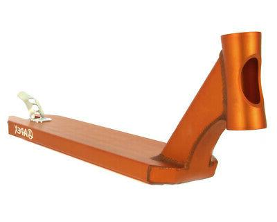 new deck 600mm orange scooter push freestyle