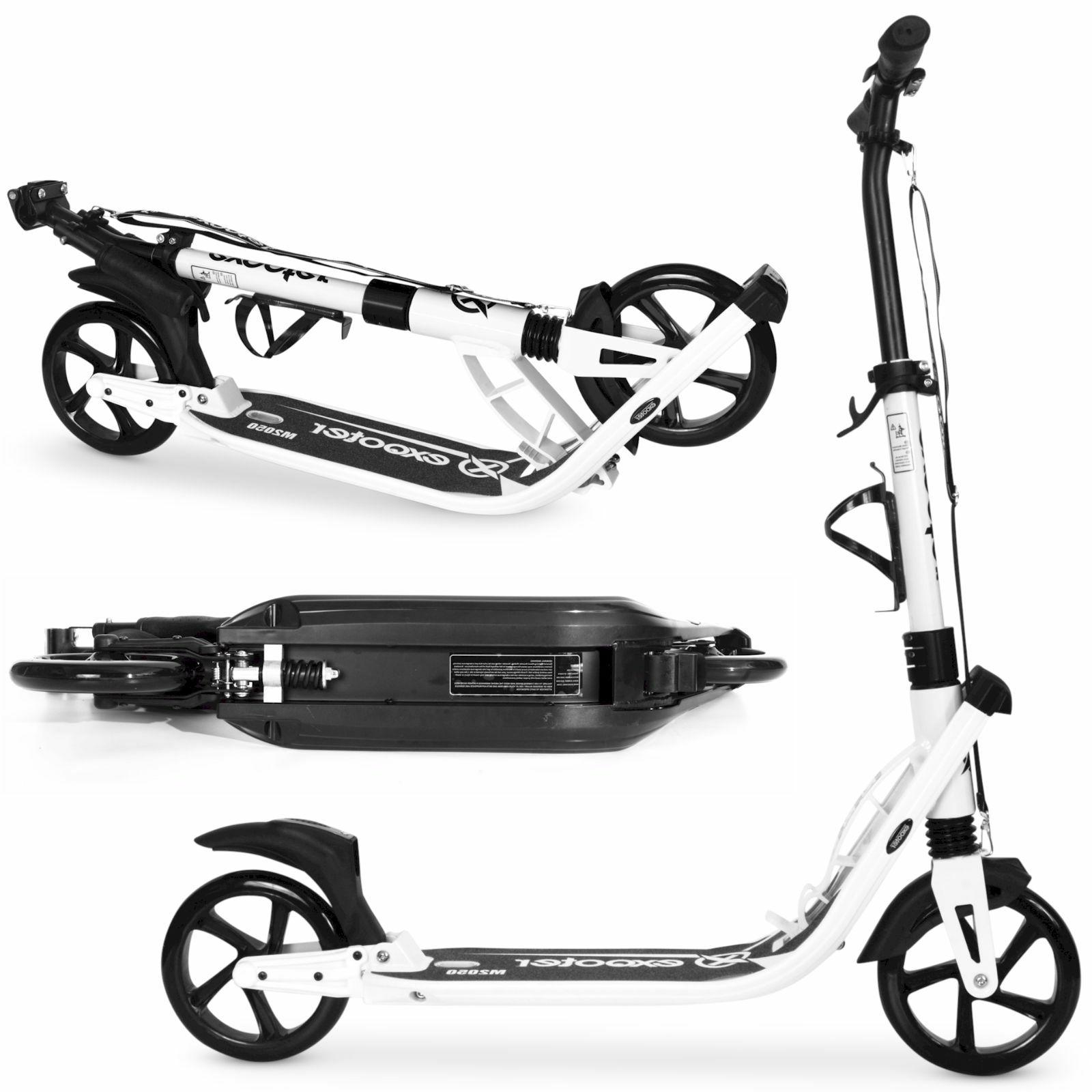 *OPEN BOX* EXOOTER 9XL With Dual Shocks White.
