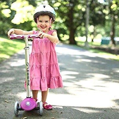 PINKKY Kid Helmet+ Knee-Elbow-Glove for Scooter