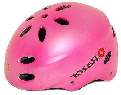 PINKKY Safety Helmet+ Pad Knee-Elbow-Glove