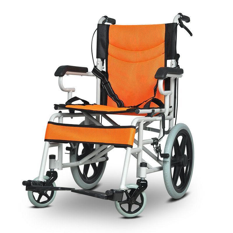 Portable Ultra Lightweight Wheelchair Travel Handcart