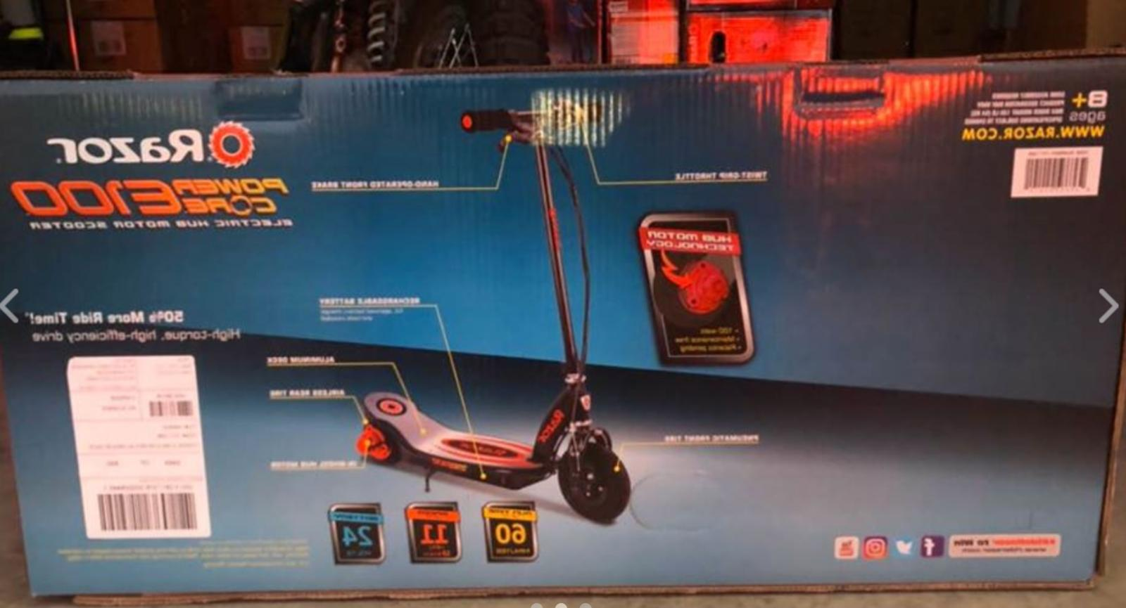 Razor Electric Motor Toy Scooter,