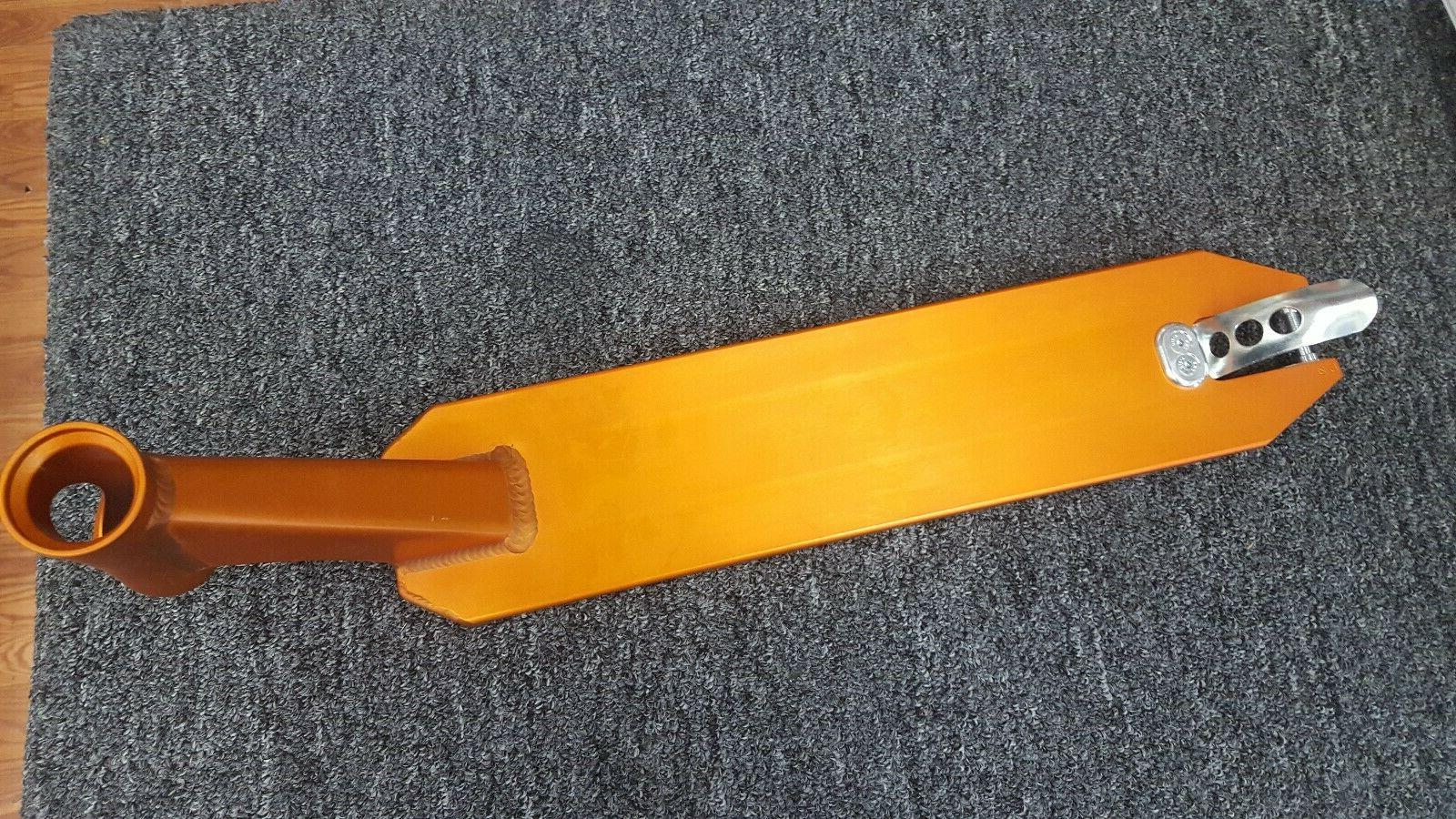 pro scooter deck orange new 20 inch