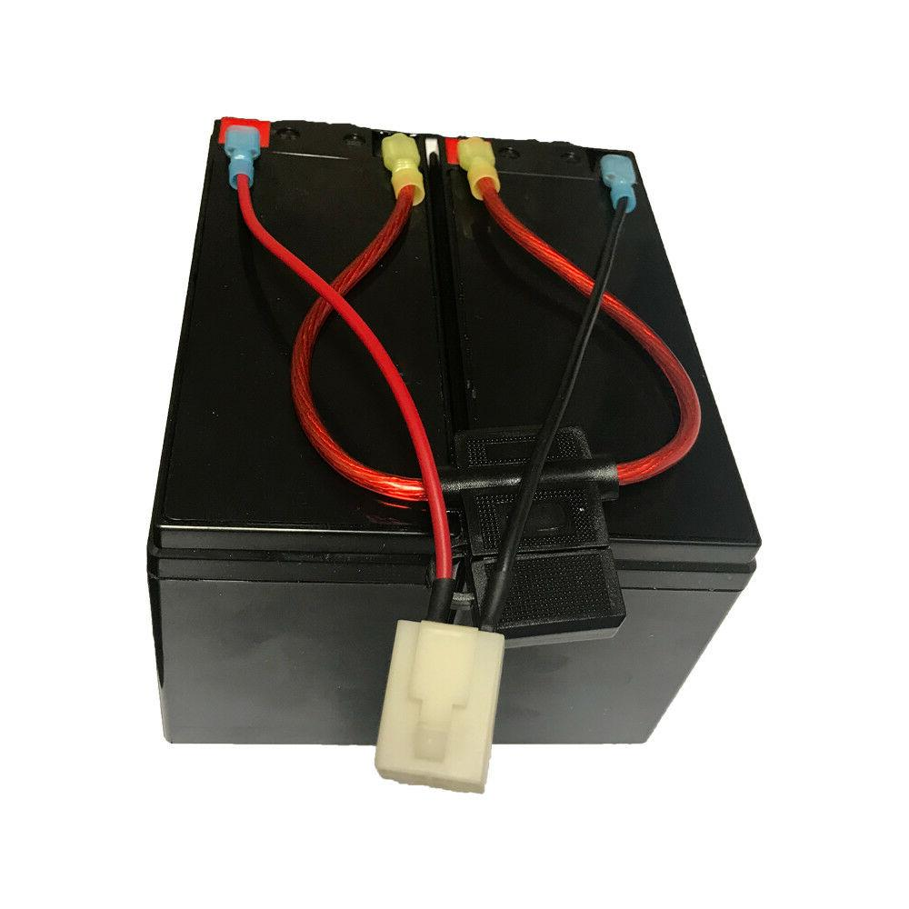 Razor Scooter 12V Battery Replacement New Wiring Harness 6-DW-7