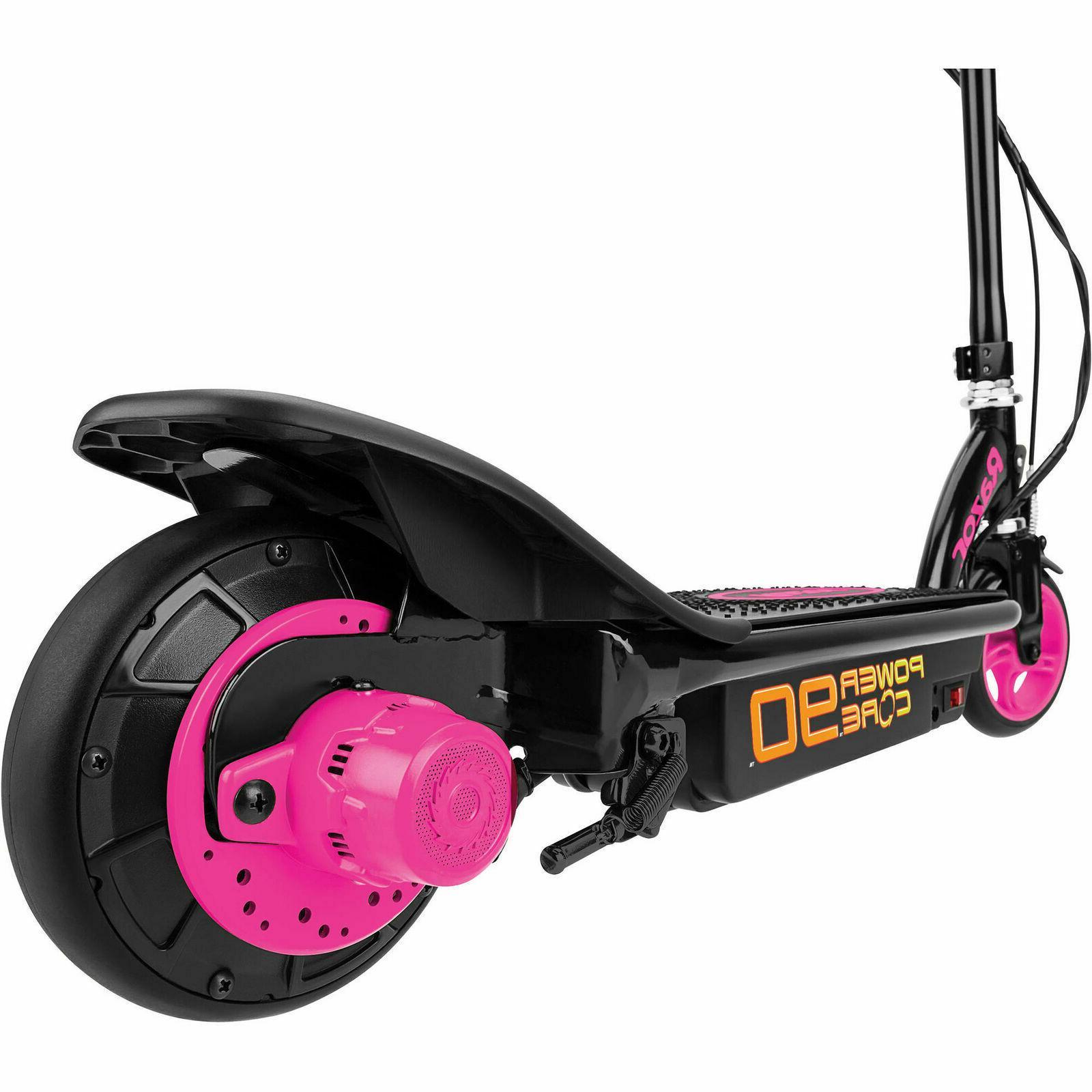 Scooter Powered W Rear Min 10 MPH Kids