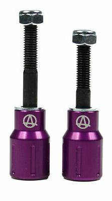 Apex Scooter Pegs Barnaynay Purple