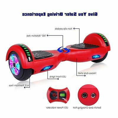 Scooter Hoverboard Bluetooth LED Christmas Gift