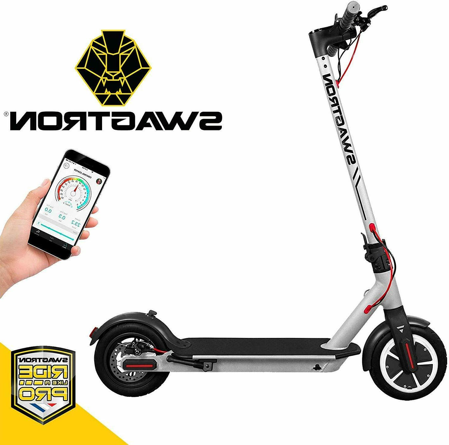 Swagtron Electric Scooter High Speed Cruise Control Portable