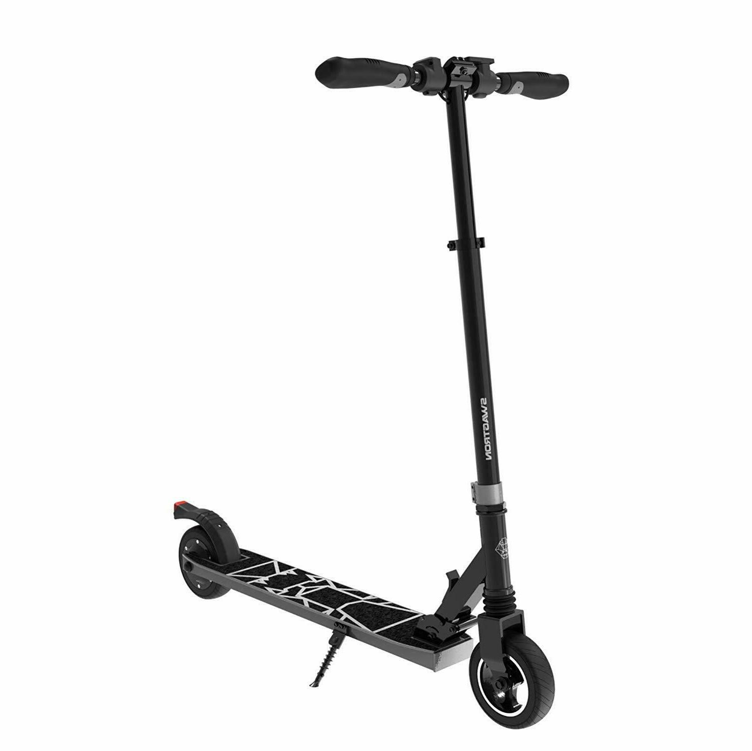 Swagtron 8 Folding Electric Scooter for Teens Cruise Quiet