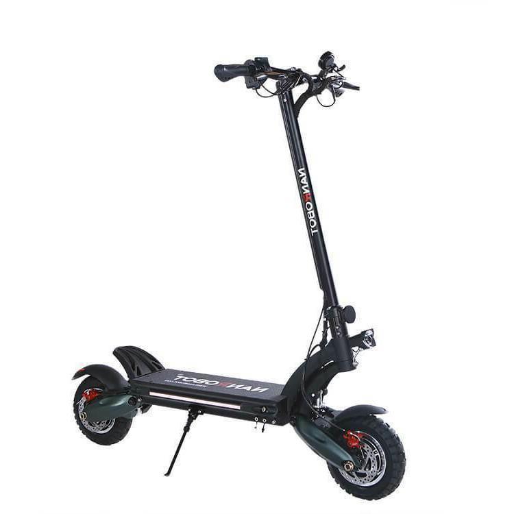 NANROBOT D6 + 2000W 52V 26AH 40MPH 10'' Electric Scoote  Adu
