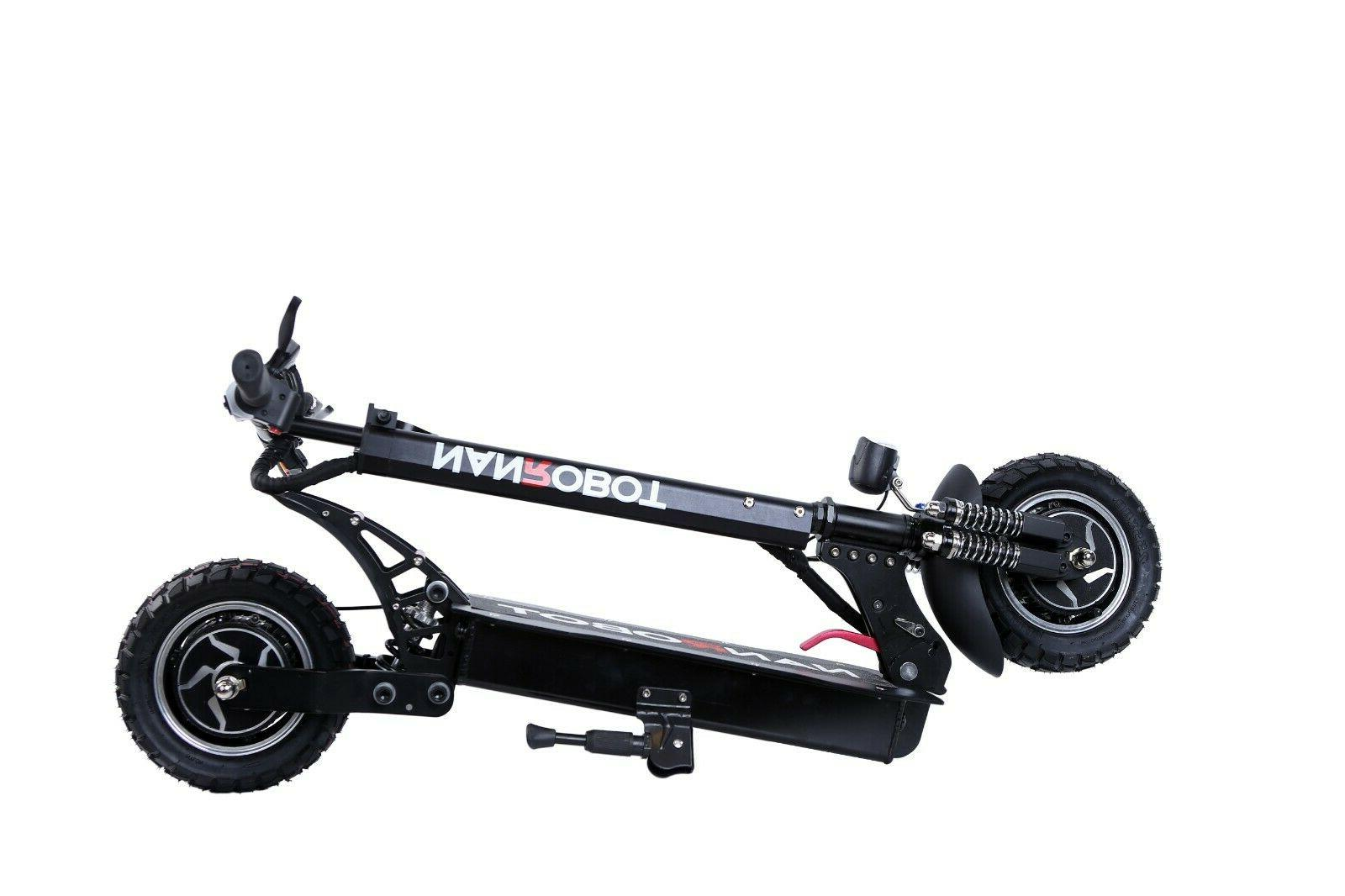 """US Ship NANROBOT Scooter Adult 2.0 Specially Upgraded 10"""" New"""