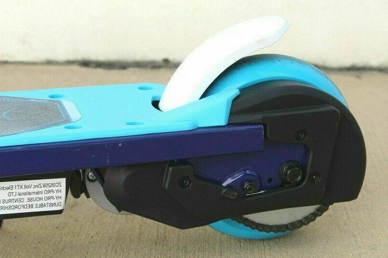 Volt Teenage Electric Scooter Chain 10mph BLUE TS02B