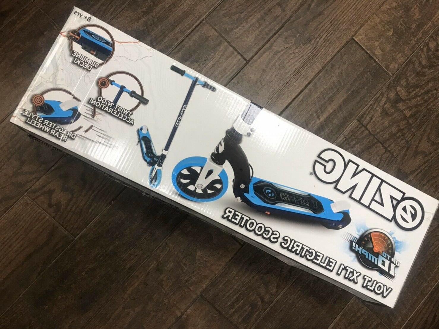 volt xt1 teenage electric scooter chain drive
