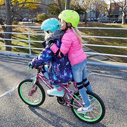 Wipeout Bike, Helmet, Neon Pink, 8+