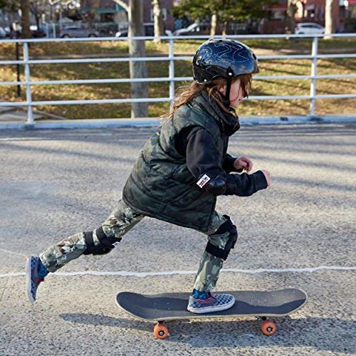 Wipeout Dry Erase Kids' Bike, Skate, Helmet, Neon Pink, 8+