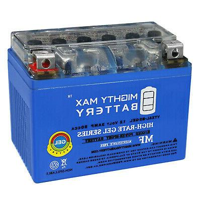 Mighty Max YTX4L-BS 12V 3Ah GEL Battery for 1985 Honda Scoot