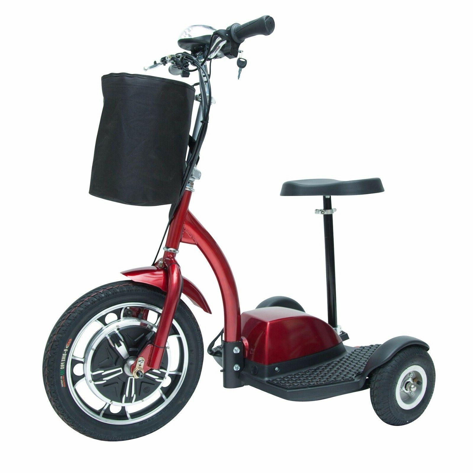 Drive Medical ZooMe3 3 Wheel Recreational Scooter, Goes up t