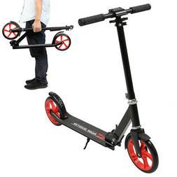Lightweight Kick Scooter 2 Wheel Foldable Kid/Adult Ride Adj