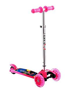 LIYU 1281F Kick Scooter for 2-8 Year Old Kids of with 3 Mini