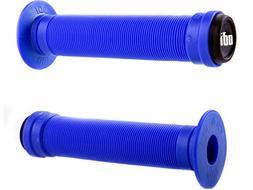 ODI Longneck ST Single-Ply BMX Grips: Bright Blue