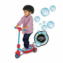 Marvel Spider-Man Boys 6V Battery-Powered Ride On Bubble Sco