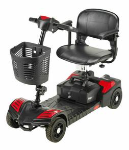 Drive Medical Scout Compact Travel Power Scooter 4 Wheel Ext