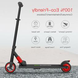 MegaWheels Lightweight Red Electric Kick Scooter Mobility Sa