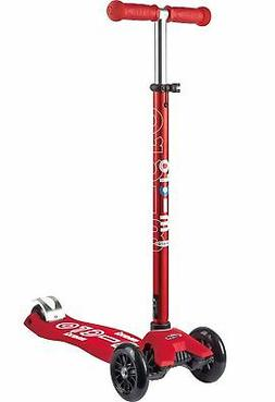 Micro Maxi Deluxe Kick Scooter Red