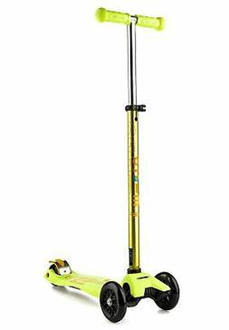 Micro Maxi Deluxe Kick Scooter Yellow