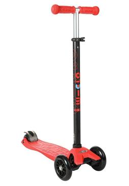Micro Maxi Kick Scooter - Red with T-bar - Summer time fun b