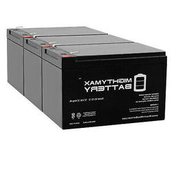 Mighty Max 12V 12AH Compatible Battery for 6-DZM-12 APC Scoo