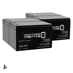 Mighty Max 12V 12AH Replacement Battery for Pride Mobility G