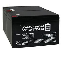 Mighty Max 12V 15AH F2 Replacement Battery for GoGo Scooter