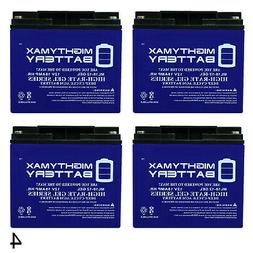 Mighty Max 12V 18AH GEL Battery Replaces Oceanic Mako Water