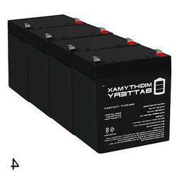 Mighty Max 12V 5AH SLA Battery Replaces Xcooter MINI-X Elect