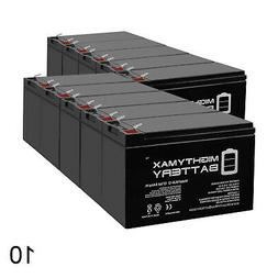 Mighty Max 12V 8Ah Battery Replacement for Mongoose Micro-3