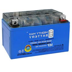 Mighty Max YTX7A-BS GEL 12V 6AH Battery for Scooter KYMCO Pe