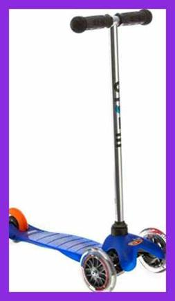 Micro Kickboard MM0283 Mini Kick Scooter BLUE Ages 2 5 AGES