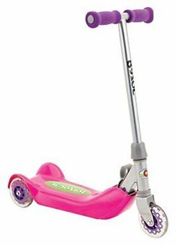 Razor Jr. Folding Kiddie Kick Scooter in Pink