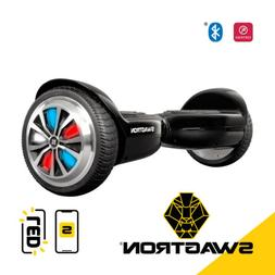New SWAGTRON Classic T500 Scooter LED Light Up Wheels Blueto