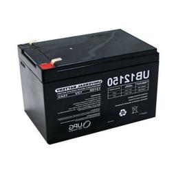 NEW UPG UB12150 12V 15AH F2 SLA Battery Replacement for GoGo