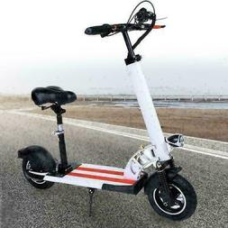 Newest Electric Scooter for Adult with seat 36V250W 10inch k