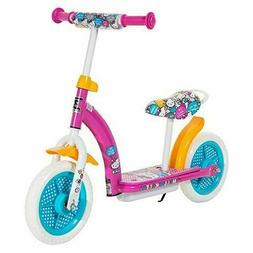 Nice Hello Kitty 2in1 Balance Bike and Scooter - Pink