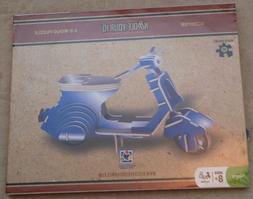 NOODLE YOUR IQ SCOOTER 3-D WOOD PUZZLE 3D Wooden Toy Model,