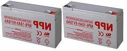 NPP  6V 10Ah Rechargeable SLA Battery For Emergency Light Ki