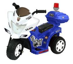 Police Bike Toddler Toy Kids Ride On Motorcycle Battery Powe