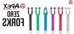 Purple Apex Zero Fork  pro scooters ethic urban art HIC SCS