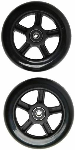 FREEDARE Replacement Scooter Wheels with Bearings fits Lugga