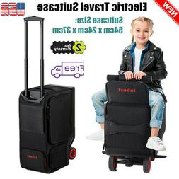 Rideable Electric Suitcase Scooter Travel Carry Luggage USB
